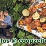 Coopzeitung lädt zum Grillfest ganz ohne Fleisch